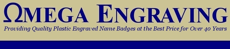 Mason's Lodge Badges - Plastic Engraved Name Badge - Order - For Sale